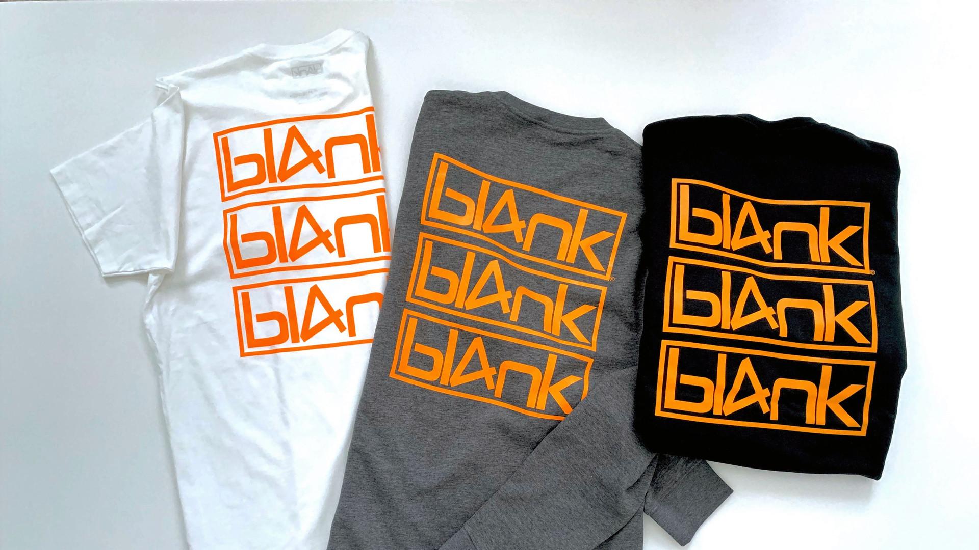bl4nk triple logo