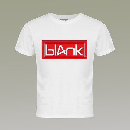 The red and white logo tee