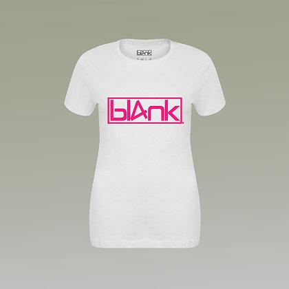 The hot pink logo tee
