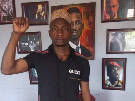 Another NUP /People power supporter, Kagimu Umar Jim, suspected of having DR forms kidnapped.