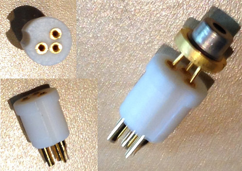 3 pin socket mount for laser diodes [AIX-ALM-MT-3]