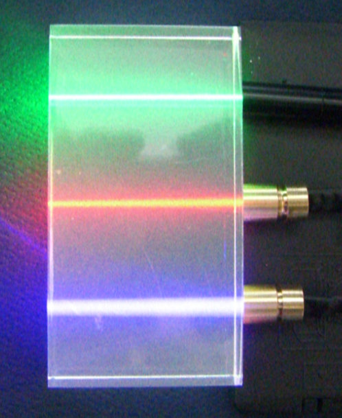 Mini RGB laser set 405 532 650nm 5mw each [AIX-RGB-MINI]