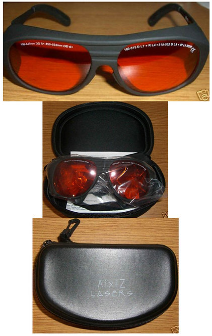LASER SAFETY GOGGLES 190-532nm [AIX-GG-ARG]