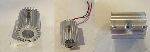 12X30mm round aluminum mount for AixiZ 12X30mm units [AIX-ALM-MT-R]