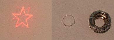 Star lens kit for 12x30mm AixiZ modules [AIX-LENS-STA]