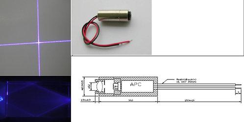 405nm cross 20mW Laser Module 12x30mm [AH405-201230]