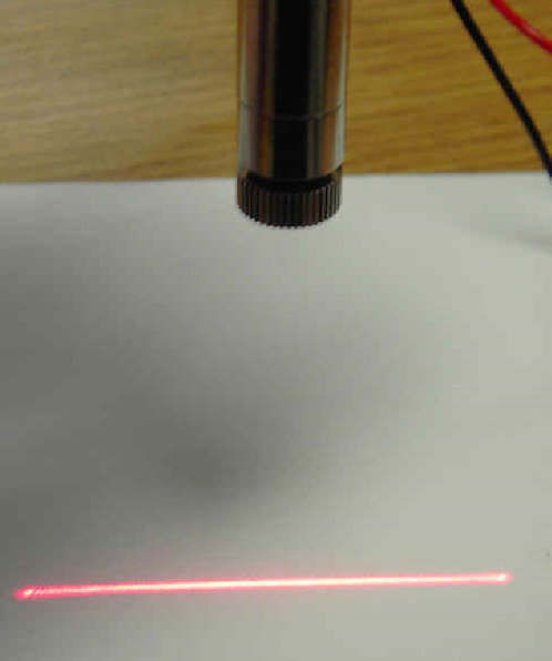 650nm line laser 5mW 3.2VDC 12 x30mm [AH650-5-1230]