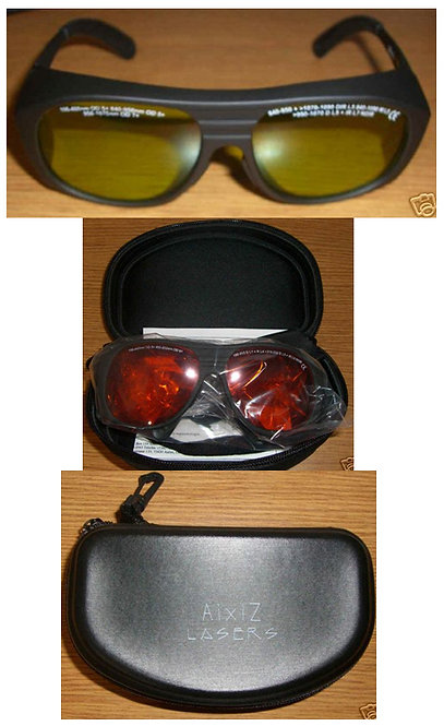 LASER SAFETY GOGGLES 840-1070nm [AIX-YG3-IR]