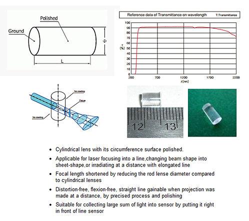 Precision Rod Optic Lens for 120 degree line [AIX-120-GLR]