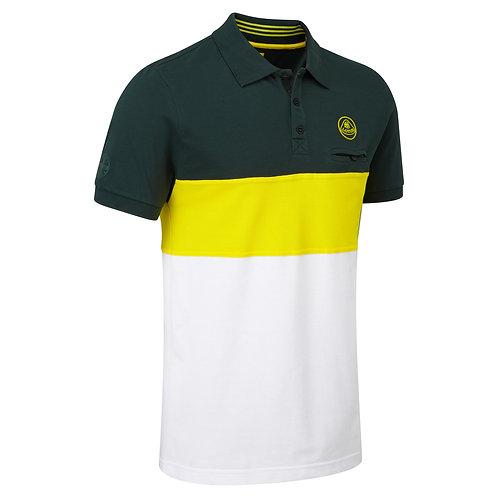 Polo shirt stripe【送料無料】