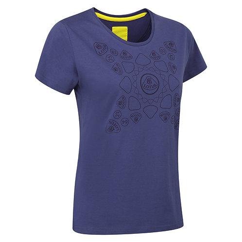 LOTUS Print T-shirt Ladies【送料無料】