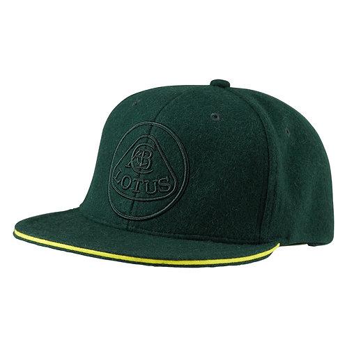Flat Peak Green Baseball Cap【送料無料】