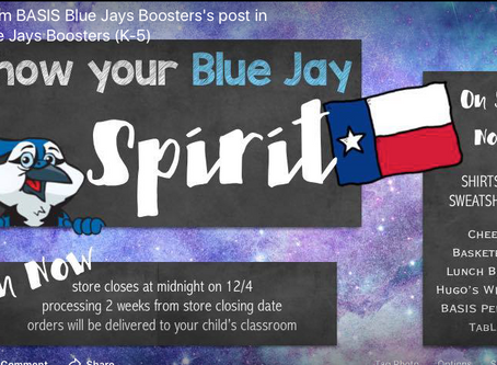Basis North Central Primary Spirit Store Open Until Dec 4th!