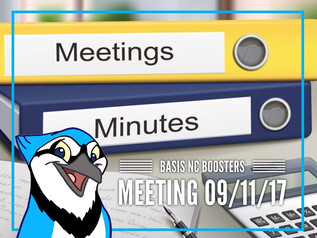 Booster Meeting Minutes Now Available