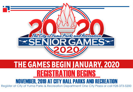 Yuma Senior Games – January 7th to February 14th