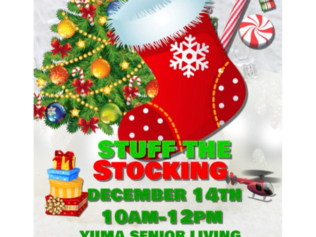 Stuff the Stocking – December 14th, 10AM – 12PM