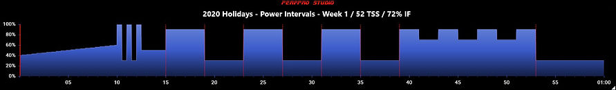 2020 Holidays - Power Intervals - Week 1