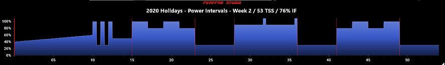 2020 Holidays - Power Intervals - Week 2