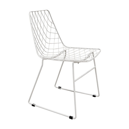 Mesh diamond chair