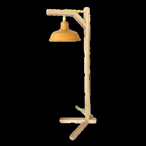 Bird Stand pino (lámpara de piso)