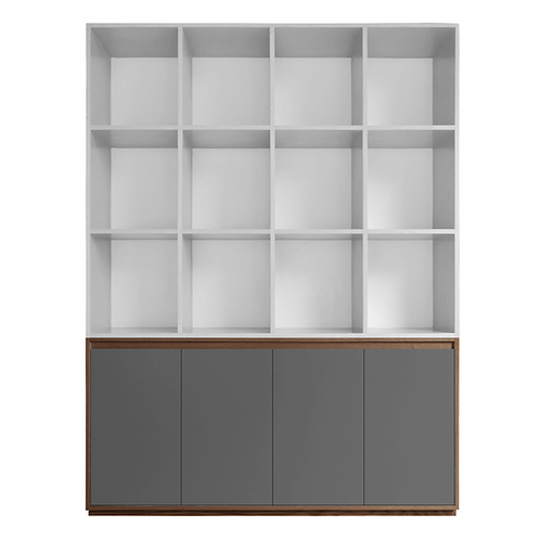 Easy bookshelf nogal