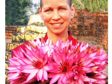 4/19 SUNDAY CYBER SANGHA WITH VEN. AMY MILLER, 10 a.m. - 11:30 a.m. EST via ZOOM
