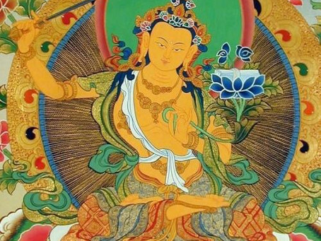 5/13: MAÑJUŚRĪ MANTRA & MEDITATION PRACTICE WITH INTUITIVE MOVEMENT