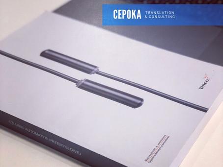 Telco sensors - tłumaczeni specjalistyczne CEPOKA