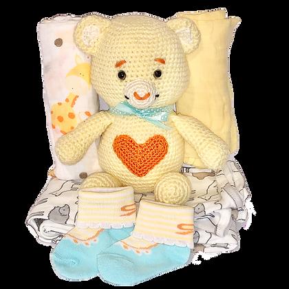 מתנה ללידה - חבילת דובוני אכפתלי
