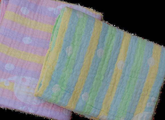 שמיכת מוסלין 6 שכבות כותנה אורגנית