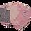 Thumbnail: סט 3 בגדי גוף לתינוקת