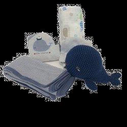 מארז מתנה ליולדת בן - הים הכחול