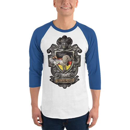 Riedesel coat of arms3/4 sleeve raglan shirt