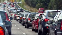 Legally allowed to lane split