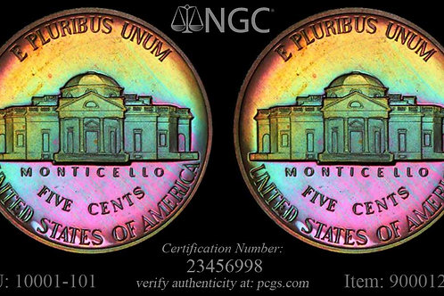 """Cherry Garcia""1945 Jefferson Nickel"