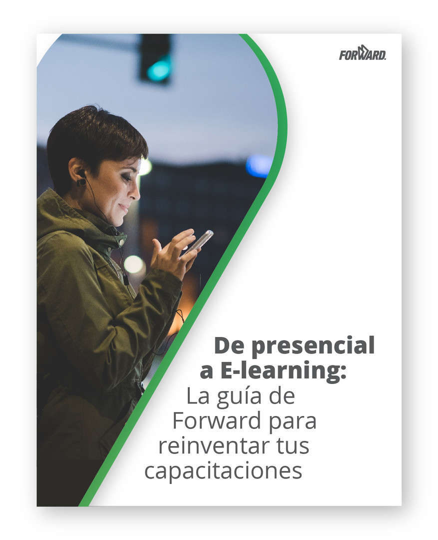 Portada ebook de presencial a e-learning