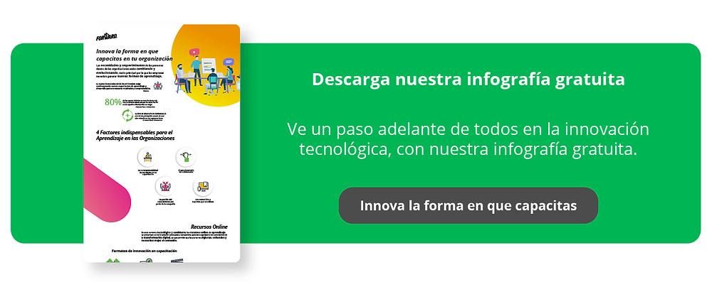 Ve un paso adelante de todos en la innovación tecnológica, con nuestra infografía gratuita.