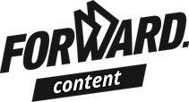 Logotipo de Forward content