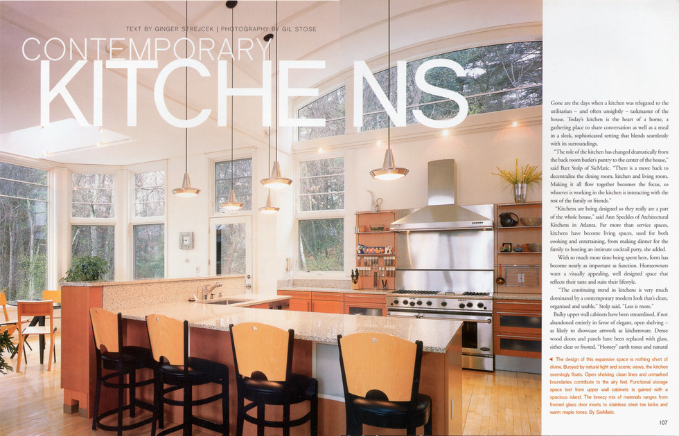 Contemporary Kitchens cover