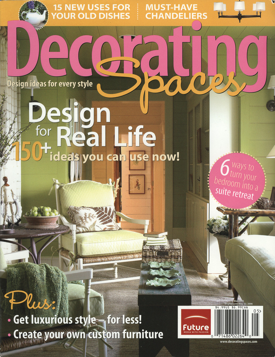 Decorating Spaces Cover