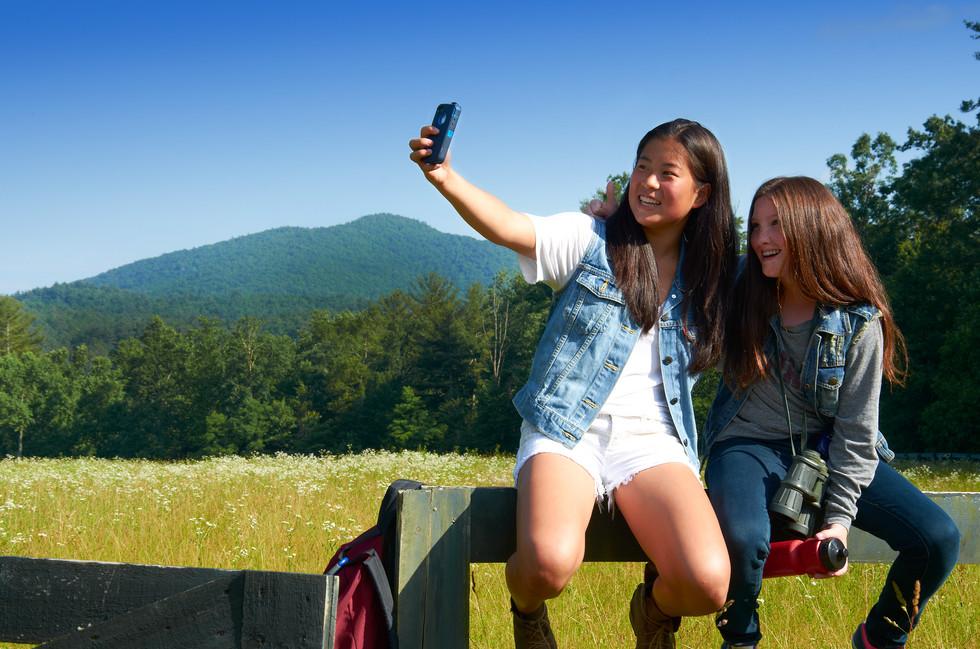 Selfie's on the farm