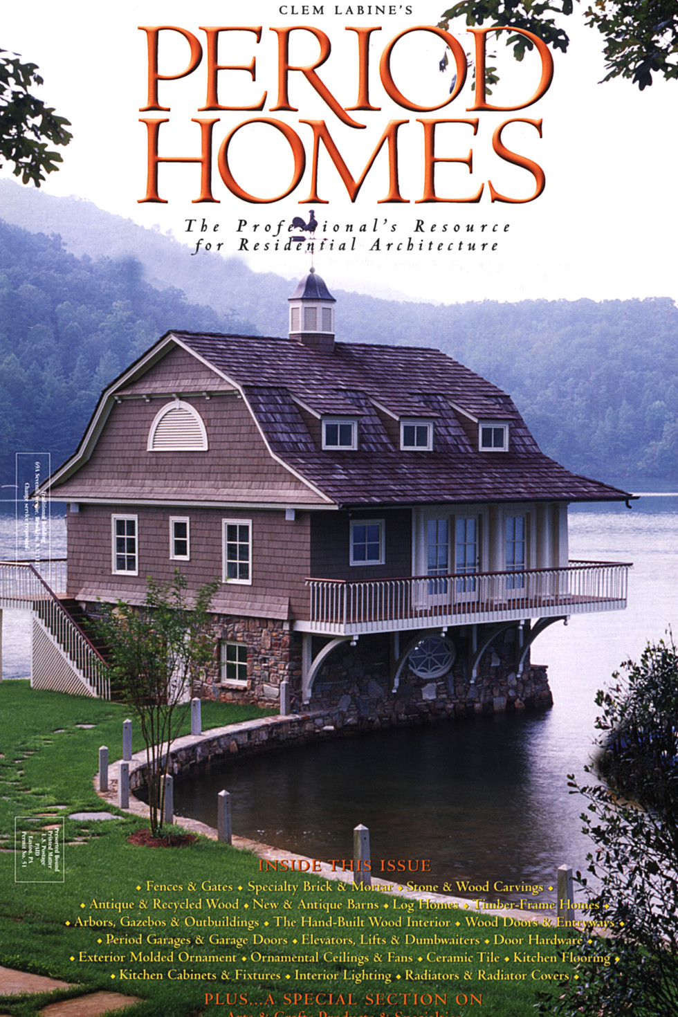 Period Homes Cover