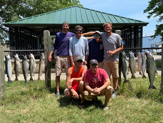 Reel Talk places 2nd in the Holland Steelheaders Summer Challenge