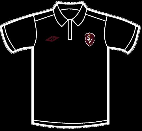Gameday Black Polo Shirt