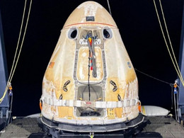 SpaceX Dragon Returns to Earth for CRS-22 Mission