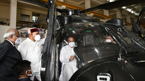 Vice President Visits HAL Facilities, Calls for Developing Indigenous Cutting-edge Technologies