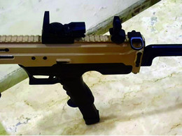 India's first indigenously developed 9mm Machine Pistol
