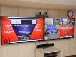 Inauguration of HAL-IISc Skill Development Centre