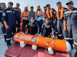 Indian Navy conducts maiden flight trial of Air Droppable Container SAHAYAK-NG