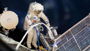 Two Russian Cosmonauts wrap up spacewalk at International Space Station